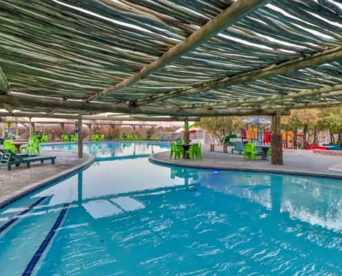 Dinokeng Resort pool