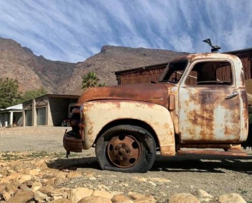 Ons Karoo Plaas old car