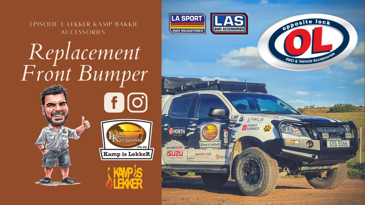LA SPORT 4WD FRONT BUMPER REPLACEMENT | ISUZU 2016 | FITMENT